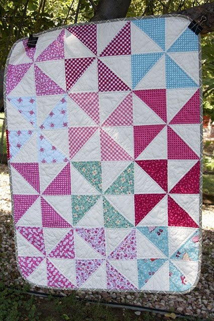 17 Best images about pinwheel quilts on Pinterest