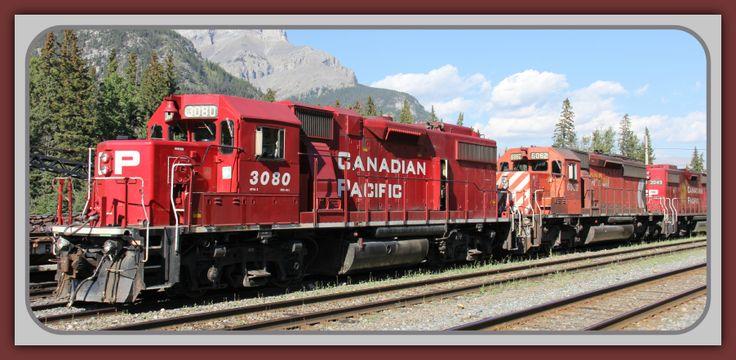 CP GP382 3080, SD402 6089 & GP382 3049 rolling
