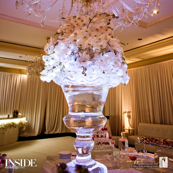 ice sculpture wedding