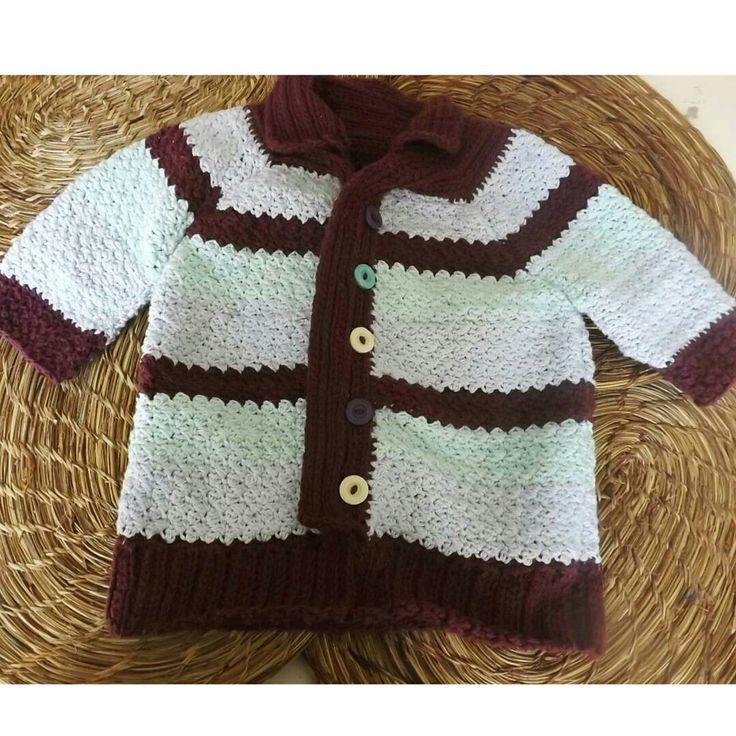 Sweater niño/a a crochet. Sweater crochet