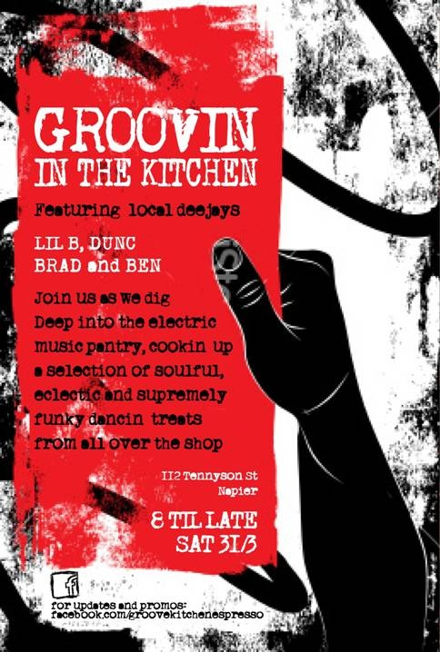 Groove Kitchen when cool tunes are in town