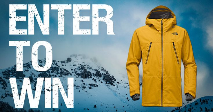 http://woobox.com/m59xpy/jx564e  Enter for a chance to win a Men's North Face Lostrail Gore-Tex Jacket
