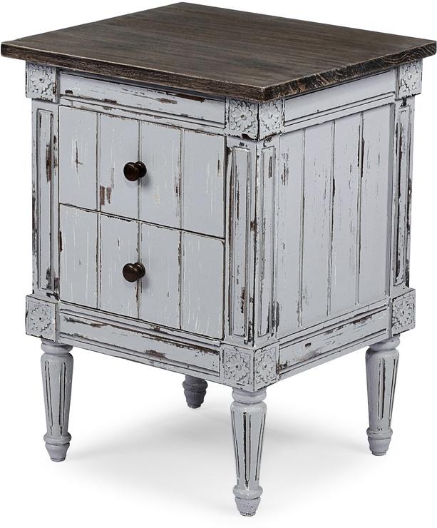 Las 25 mejores ideas sobre muebles blancos antiguos en - Muebles pintados de colores ...