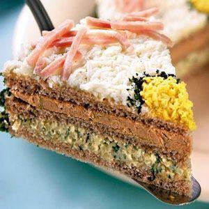 Торт бутербродный прямоугольный