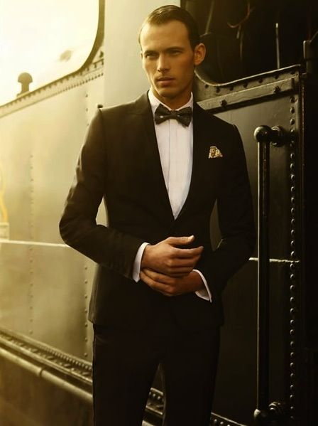 Ted Baker | Men's Formalwear | There is a massive part of me that wants everyone to dress like this all the time, but then if everyone did, then this dude wouldn't look so f****** cool