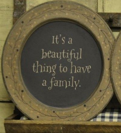 Decorative Plate Itu0027s A Beautiful Thing to Have a Family-Decorative Plate Hearthside Collection & 112 best Decor Plates images on Pinterest | Dishes Country ...