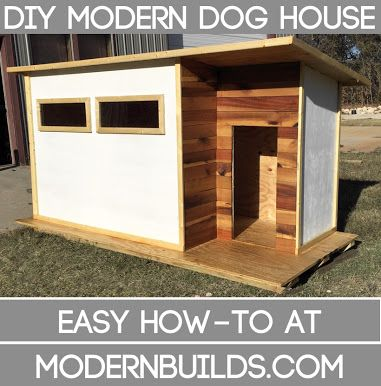 contemporary dog house - Google Search