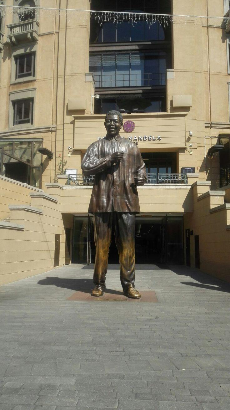 Nelson Mandela square in Sandton, Johannesburg.