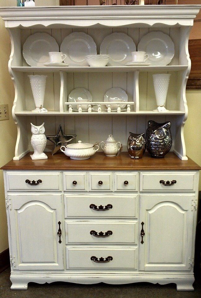 Vintage China Hutch New in Store | Classic Farmhouse - Auburn Vintage Furniture & Home Decor