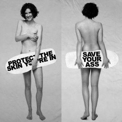 Marc Jacobs promoting skin cancer awareness.