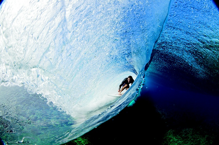 Danny Fuller & Zak Noyle bring us a new perspective of Teahupoo