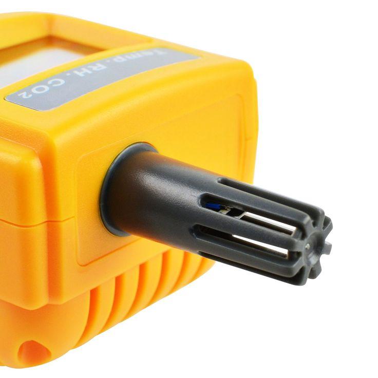 Probador de la humedad DP calidad del aire interior 9999 ppm de dióxido de carb...