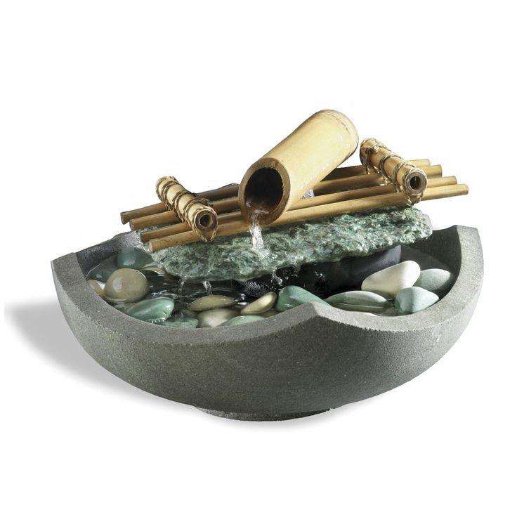 Les 18 meilleures images propos de fontaines d 39 int rieur for Fontaine interieur bambou