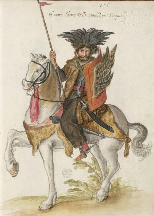 Ottoman Deli : Lucas d'Heere 1575    :::: pinterest.com christiancross ::::