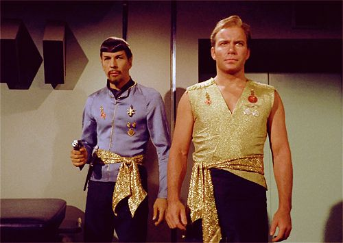 Star Trek Moreau Kirk Spock Fight 43