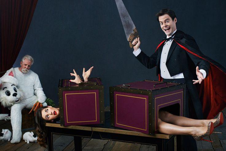 Afbeeldingsresultaat voor magician assistant sawed