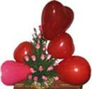 Send online 18 Roses Basket & 5 Heart Balloon in Hyderabad. Available at : www.flowersgiftshyderabad.com/Newyear-Gifts-to-Hyderabad.php