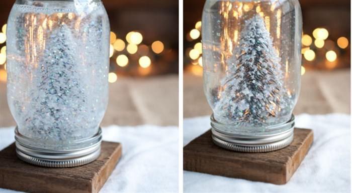 Φτιάξτε τη δική σας χιονόμπαλα και φέρτε τα Χριστούγεννα στο σπίτι  #DIY