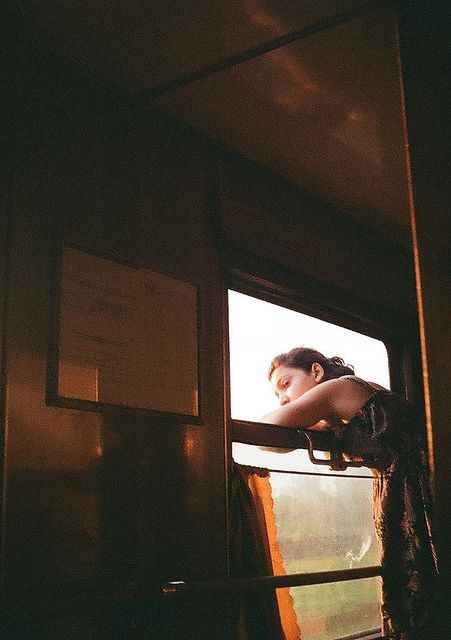 I love to see where I've been and watch the landscape fly by on a train. It's my favorite way to travel.........