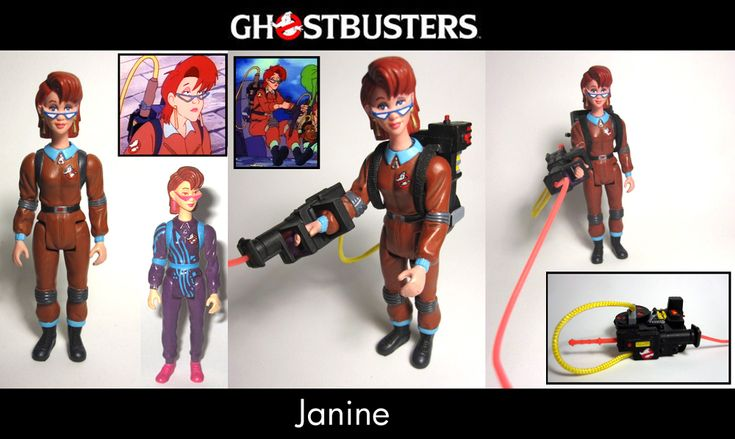RGB Janine Ghostbusters Custom by Baker009 on DeviantArt