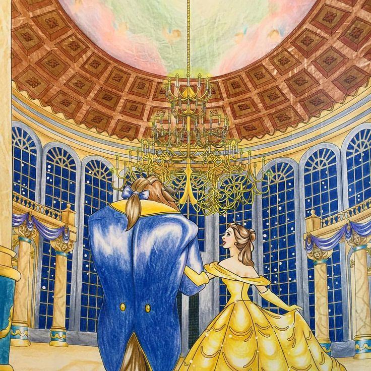 ✏︎✏︎✏︎2016.3.6.sun . . 魔のお城?に変えられたはずなのに 広間の天井には天使がいるんだなぁと 塗りながら思ってました。 またしても前作の裏写り激しい!! . . 仁は熱もそんなに高くなく 元気もりもーり!! ひたすらニンニンジャーごっこ❤️ww . . #大人の塗り絵 #ぬりえ #ぬり絵 #塗り絵 #コロリアージュ #クーピー #パステル #色鉛筆 #disney #ディズニー#ディズニープリンセス #ディズニーガールズカラーリングブック #ディズニーガールズ #美女と野獣 #beautyandthebeast #塗り絵の記録 #自己満 . .