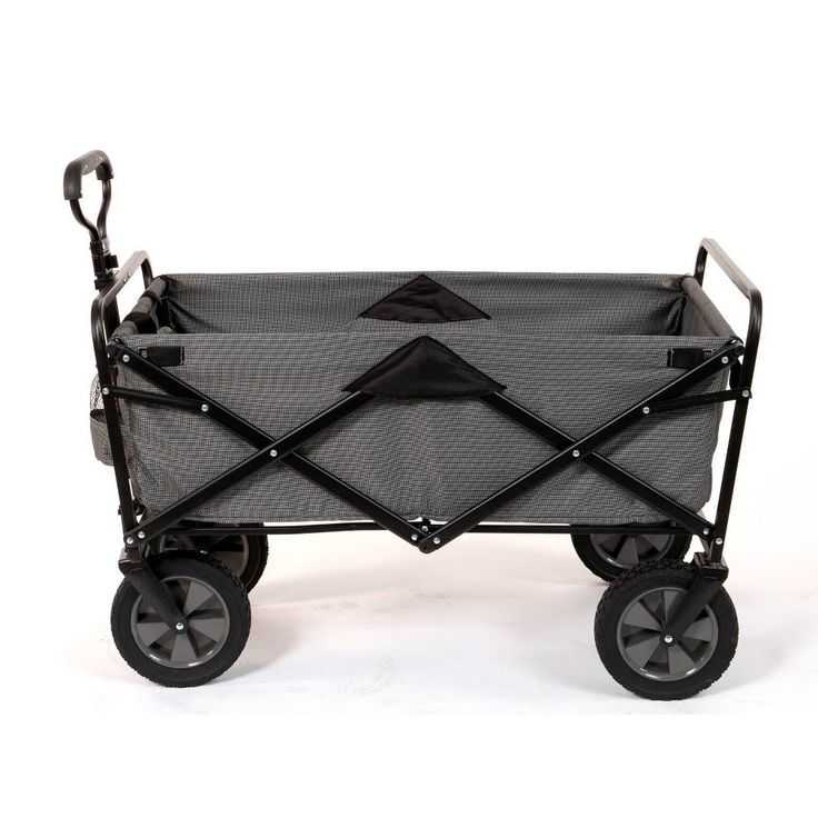 Mac Sports Collapsible Folding Steel Frame Outdoor Garden Camping Wagon, Gray – Products