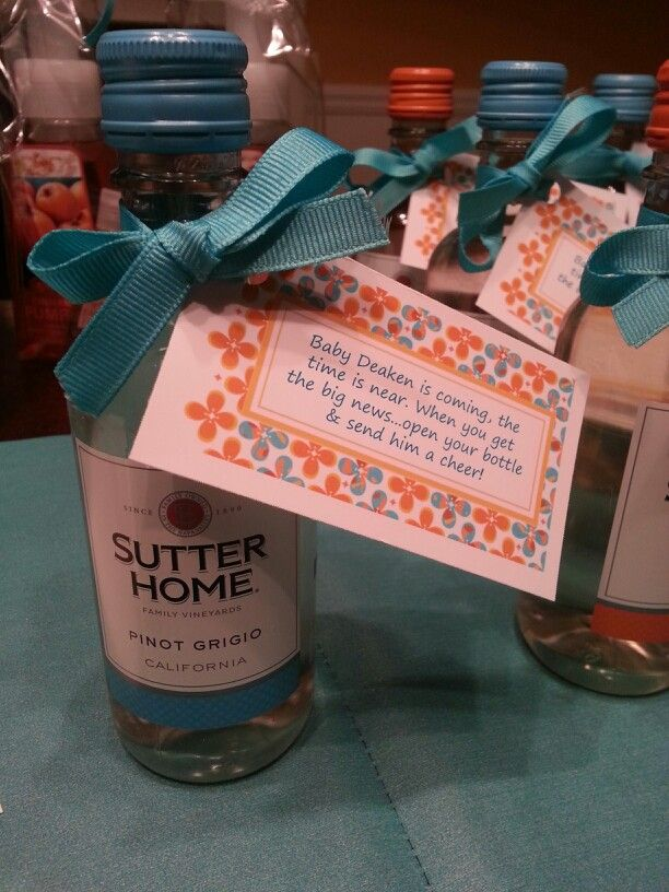 Baby shower favors. Cute but maybe not for everyone.......