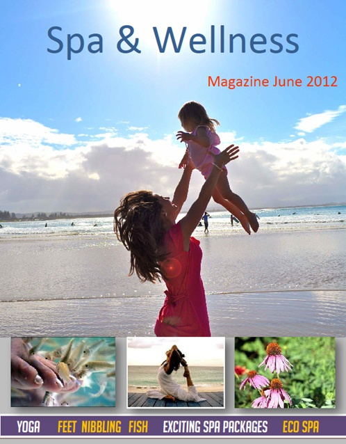 June issue out now! Yoga. toe nibbling fish exfoliation, fermented foods, eco spa in Israel http://www.islandspa.com.au: Fermented Food, Http Www Islandspa Com Au, Eco Spa