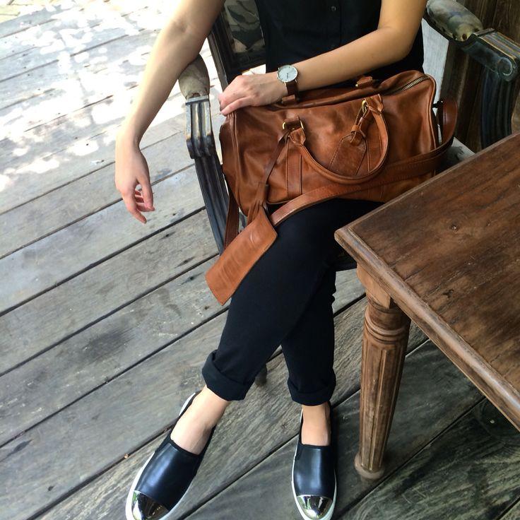 TRAD LeatherGoods : Signature Speedy Bag