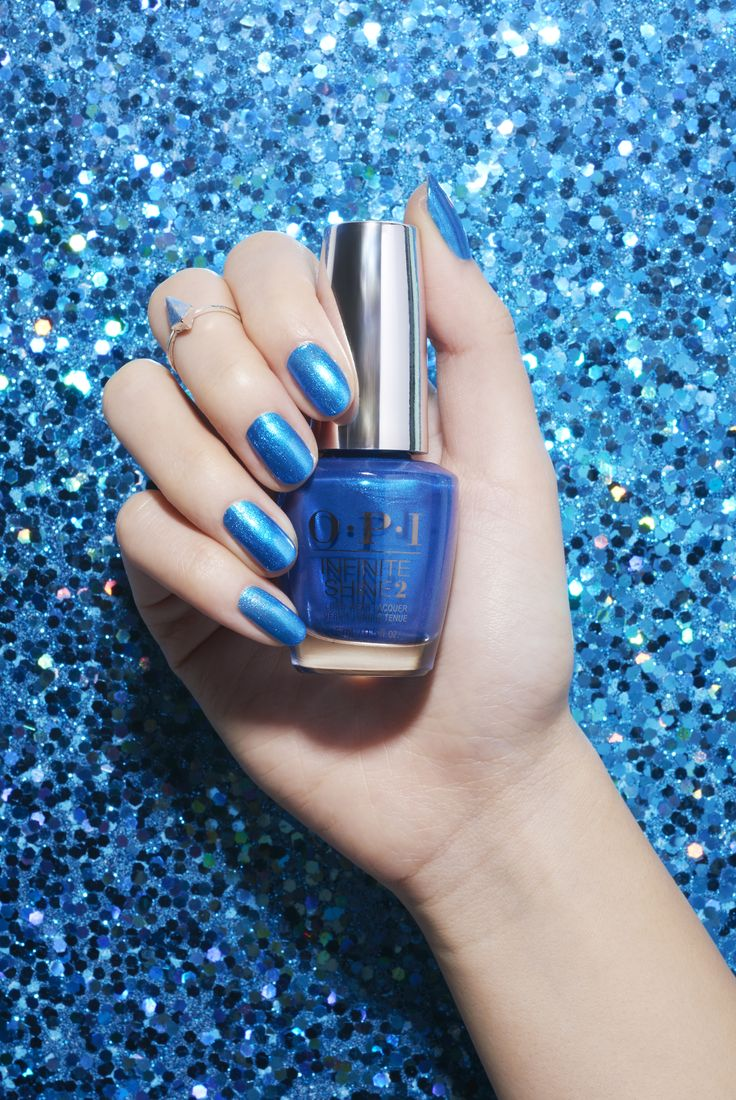 Blue glitter ombr 233 stiletto nails - A Shimmery Blue To Match The Ocean Waters Do You Sea What I Sea