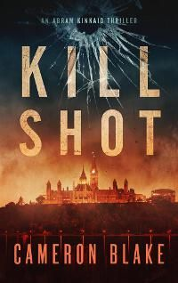 Kill Shot designed by Damonza.com | JF: Strong composition, typography and scene-setting give this cover its impact. ★