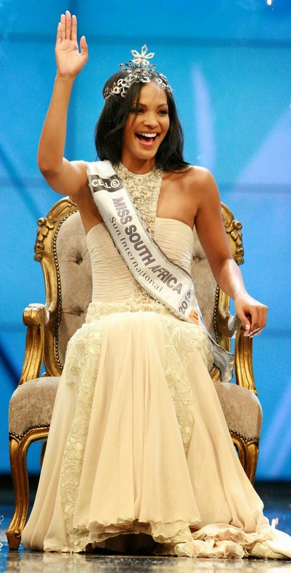Liesl Laurie - Miss South Africa 2015