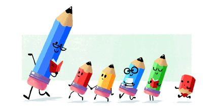 Teachers day google doodle 2016