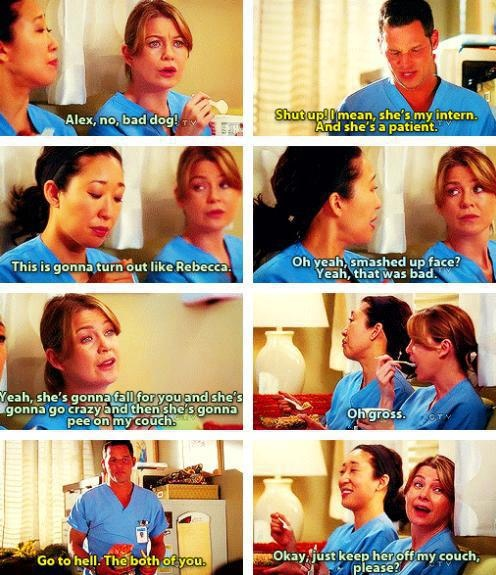 Grey's Anatomy - poor Alex :(