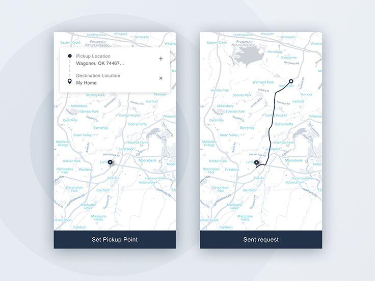 Map interaction (Rider) by Hafiz Ibrahim 