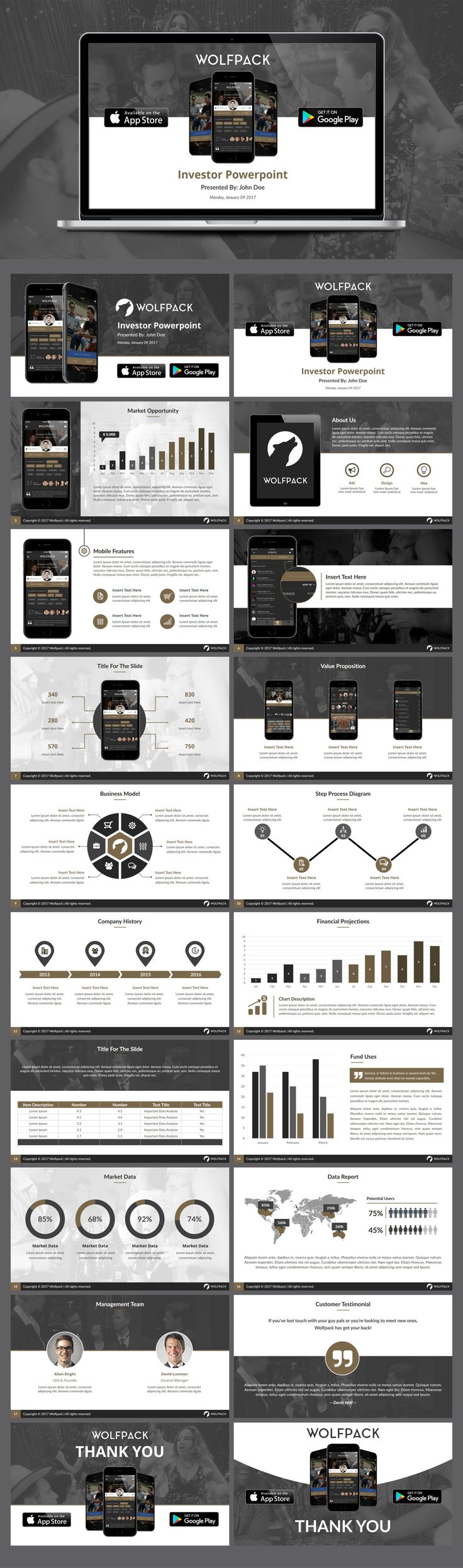 Best PowerPoint Images By Nicole Esche On Pinterest - Fresh powerpoint pitch book template concept