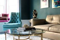 Maria's Glamorous Fashion-Inspired Flat House Tour | Apartment Therapy  GOES GREAT WITH                      See Details                      See Details  SIMILAR COLORS                            See Details MORE SHADES                                        See Details  COMMENTS  Post a new comment Login     	 	 Post oasis blue  2049-20