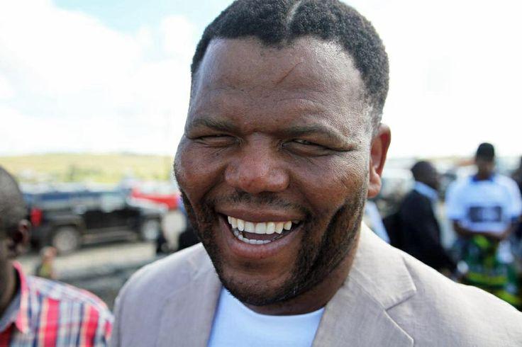 Mandela look- alike: Ayanda Mbatyothi