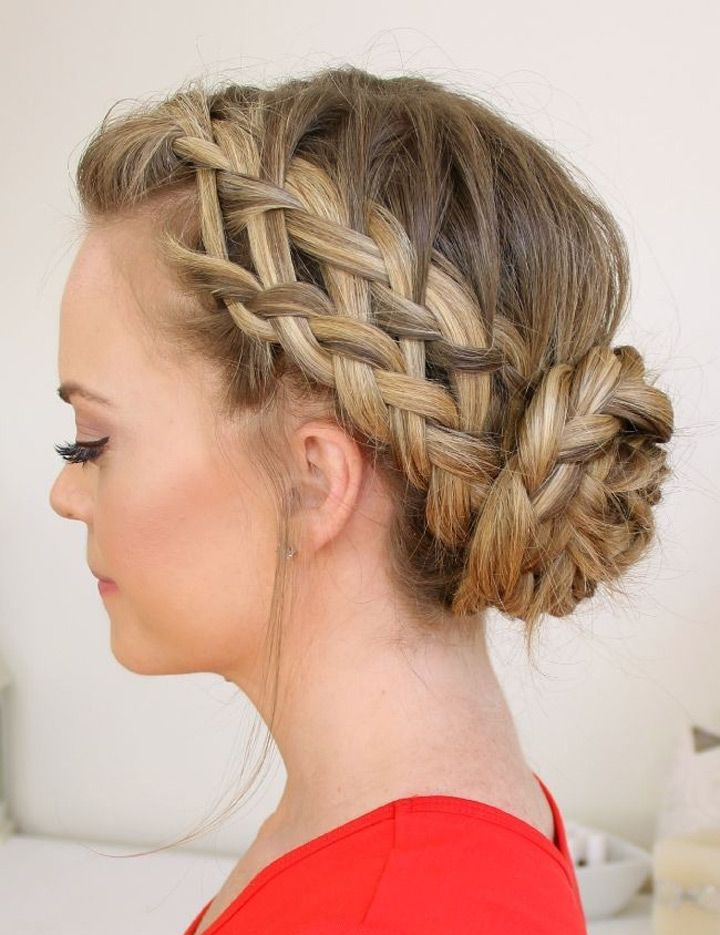 Enjoyable 1000 Images About Braided Updo39S On Pinterest Hair Romance Short Hairstyles For Black Women Fulllsitofus