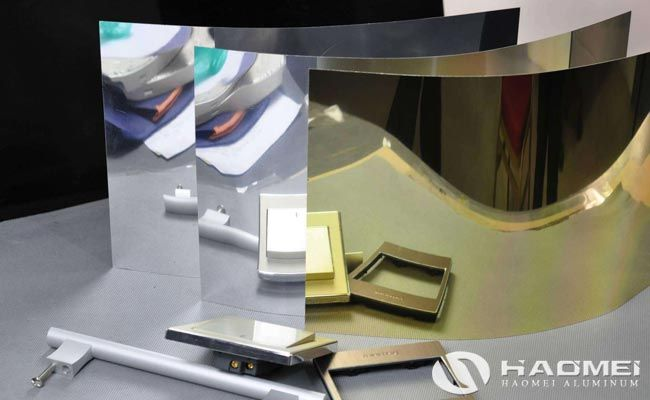 Haomei Aluminum Mirror Finish Aluminum Sheet Series Of Haomei Aluminium Sheet Mirror Aluminum