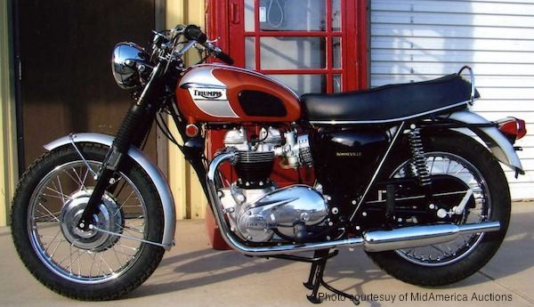 Britain's 1969 Triumph T120 Bonneville 650. Wanted one of these when in high school.