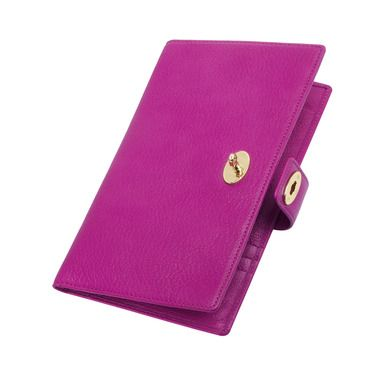 Mulberry - Women's Travel Wallet in Mulberry Pink Glossy Goat