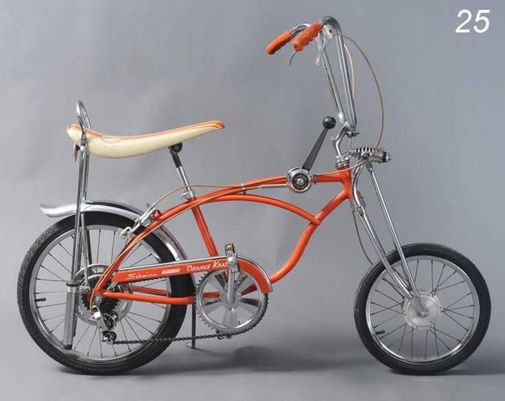 Schwinn Sting Ray Bicycle Quot Orange Krate Quot Model Untouched