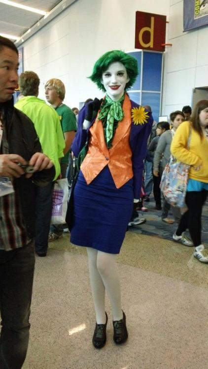 female joker halloween - Joker Halloween Costume For Females