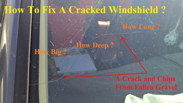 How To Fix A Cracked Windshield ? In this is guide on how to repair a cracked windshield ,you will learn the following : How to repair a cracked windshield yourself How to fix a long cracked windshield . How to evaluate if a cracked windshield repair kit is worthy in terms of bond material and visibility . Insight about how big a crack in windshield can be repaired . Windshield repair vs replacement and windshield crack repair cost .