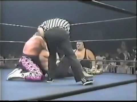 Jake Roberts & Yokozuna vs. Jim Neidhart & King Kong Bundy 10/10/99
