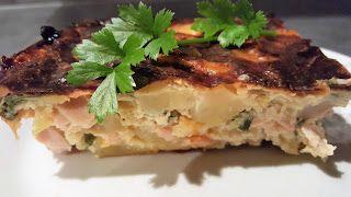 Vaříme bez tuku: Zapečené brambory se šunkou