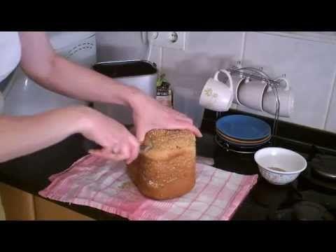 Pan de dátiles con miel en Panificadora