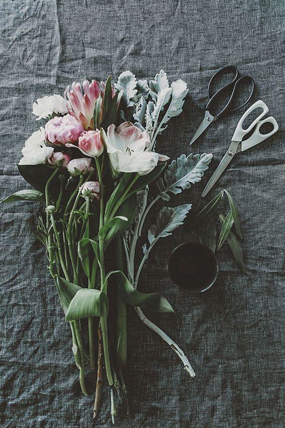 Floral Art via The Artful Desperado