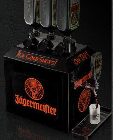 Jägermeister tap machine